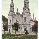 Basilica St Anne de Beaupre Quebec Canada c 1910 Vintage Postcard