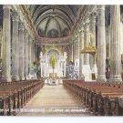 Interior Basilica St Anne de Beaupre Quebec Canada c 1910 Vintage Postcard