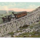 Jacobs ladder Cog Railroad White Mountains NH Mt Washington