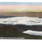 Sunrise on Mt. Washington White Mountains NH ca 1910 Leighton