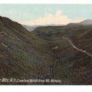 Crawford Notch from Mt. Willard White Mountains NH Leighton 1910