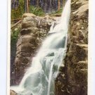Cascade in Flume White Mountain NH Photostint ca 1910
