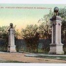 Entrance Deering Oaks Portland ME Langdorf E 6676 ca 1910