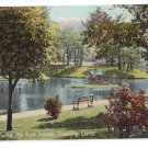 Portland ME The Duck House at Deering Park Leighton ca 1910