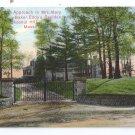 Entrance Mary Baker Eddy Residence Chestnut Hill MA Reichner ca 1910
