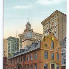 Old State House Boston MA Reichner ca 1910 Exc
