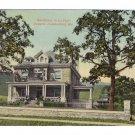 La Vale Cumberland MD Vintage Postcard Residence