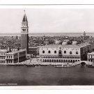 RPPC Venice Venezia Panorama Vintage Postcard Italy