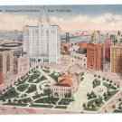 Proposed Civic Center New York Vintage Tammen Postcard NY