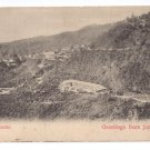 Newcastle Jamaica Vintage View Postcard