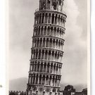 RPPC Pisa Campanile Leaning Tower Vintage Postcard Italy 1938