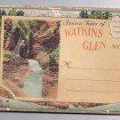 Watkins Glen NY 18 Views Souvenir Folder E.A. Hoffman