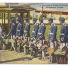 Hollywood Dog Track FL Linen 1943 Tichnor