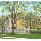 Batavia NY High School Curteich Vintage Postcard