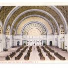 Union Station Washington DC RR Interior RPO 1917