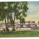 Tam O Shanter Country Club Chicago IL Curteich Linen Postcard