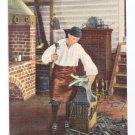 Williamsburg VA Deane Shop Forge Blacksmith Linen Curteich