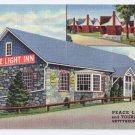 Peace Light Inn Gettysburg PA Vintage Linen Postcard