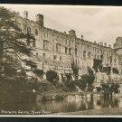 UK RPPC Warwick Castle Riverfront Vintage Postcard