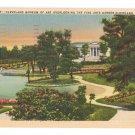 Cleveland Museum of Art Ohio Vintage Linen 1940 Postcard