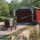 Paradise PA Bridge Amish Carriage Buggy Mel Horst Photo