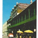 Antoines Restaurant New Orleans LA 1962 Chrome Postcard