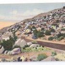 RT 66 Tijeras Canyon Albuquerque NM Curteich Linen 1947