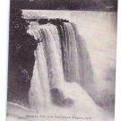 Niagara Falls NY Horseshoe Falls Vintage UDB Postcard
