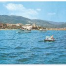 Italy Loano Savona Aerial View from Sea Postcard 4X6
