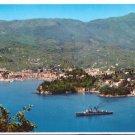 Italy Rapallo Panorama View Harbor Tigullio Bay 4X6