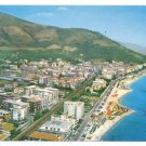 Italy Ceriale Savona Riviera Aerial View West Postcard 4X6