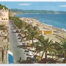Italy Ceriale Savona Riviera Promenade a. Diaz Postcard 4X6