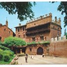 Italy Torino Turin Medieval Castle Postcard 4X6