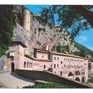 Italy Rome Subiaco Sacro Speco Abbey Monastery St Benedicts Postcard