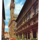 Italy Firenze Florence Flowers Feast 4X6 Postcard