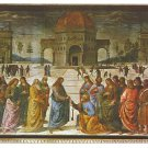 Italy Rome Vatican Art Custody of the Keys Perugino Postcard 4X6