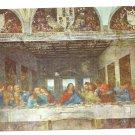 Italy Milan Last Supper Leonardo Da Vinci Cenacolo Postcard