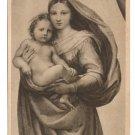 Painting Raphael Sistine Madonna Child Raffael Dresden Museum