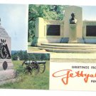PA Gettysburg Greetings Civil War Lincolns Speech memorial