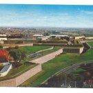 Quebec Canada La Citadelle Aerial View Chrome Postcard