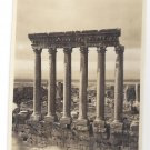 RP Greece Columns Classical Ruins Real Photo Post Card