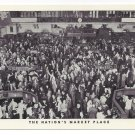New York Stock Exchange Market NYC NY Vintage Postcard