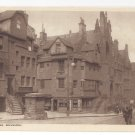 Scotland Edinburgh John Knox House Vintage Postcard