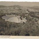RP Greece Epidaurus Theater Ancient Amphitheater Stournaras Real Photo