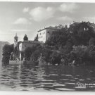RP Italy Lake Como Lenno Punta Balbianello Real Photo