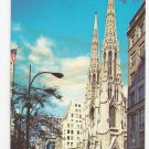 St. Patricks Cathedral New York NY 1960s Nester's postcard K-13