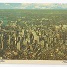 Philadelphia PA 1976 Aerial View Bicentennial Vintage Postcard