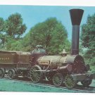 Train Railroad Postcard B&O Museum Lafayette Replica 1st Horizontal Boiler RR
