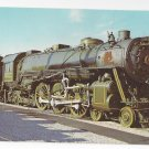 Train Railroad Postcard B&O Steam Locomotive 5300 President Washington RR
