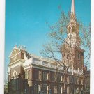 Christ Church Philadelphia PA Vintage Postcard Walter Miller